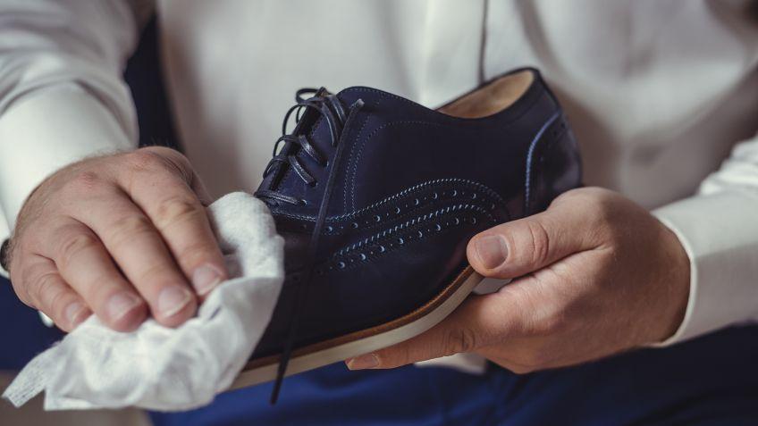 jak czyścić buty skórzane
