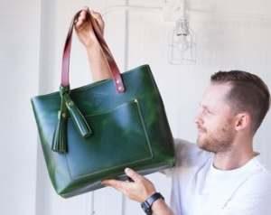torby męskie skórzane