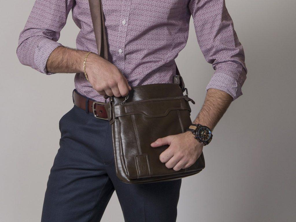 Męskie torby na ramię, stawiamy na ekologię