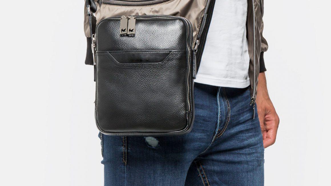 Raportówka – torebka męska do zadań specjalnych