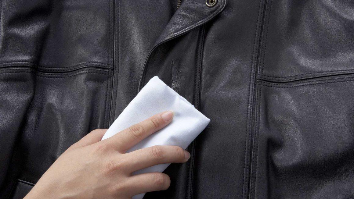 jak wyczyścić skórzana kurtkę