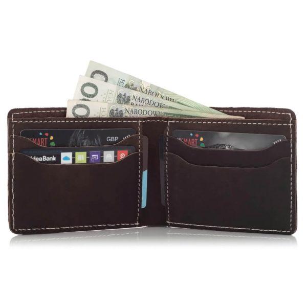 Cienki portfel męski Slim Vintage BW04