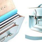 torebka skórzana bez podszewki