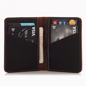 Portfel męski SLIM na karty kredytowe CH01