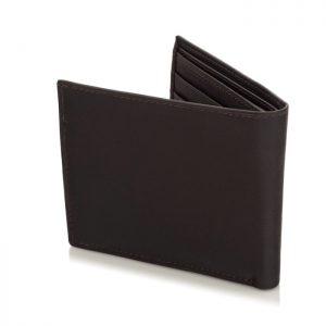 Portfel męski SLIM wallet ciemnobrązowy BG03