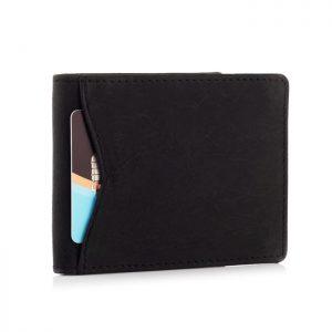 Portfel męski SLIM wallet czarny ZC03