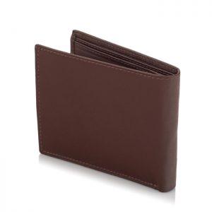 Portfel męski SLIM wallet jasnobrązowy BG03